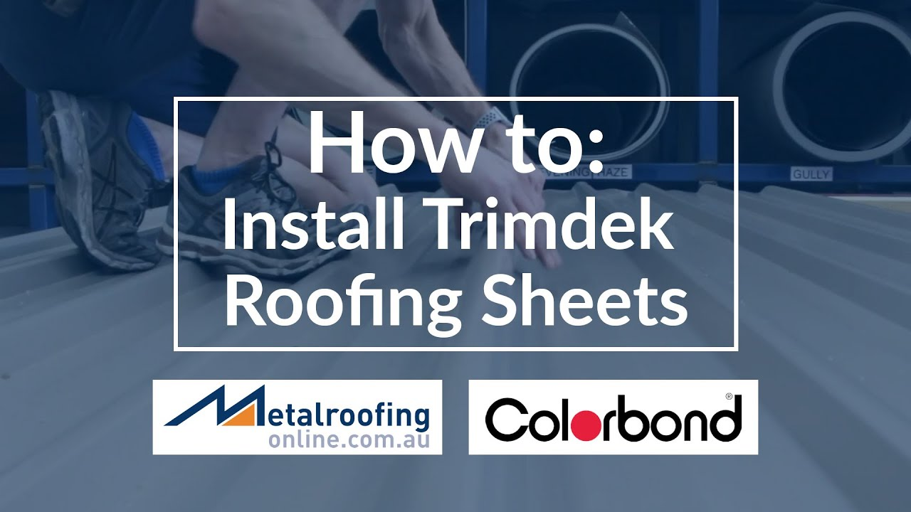 COLORBOND® Trimdek Roof Sheets | Metal Roofing Online
