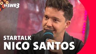 Nico Santos im Star-Talk | SWR3 New Pop Festival 2018