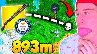 *RECORD MUNDIAL* KILL CON ESCOPETA A 893 METROS!! Fortnite Battle Royale *EPIC FAILS*