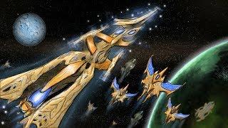 [Хроники StarCraft] История кораблей-ковчегов. Копьё Адуна. Память Незина. Гордость Алтариса.