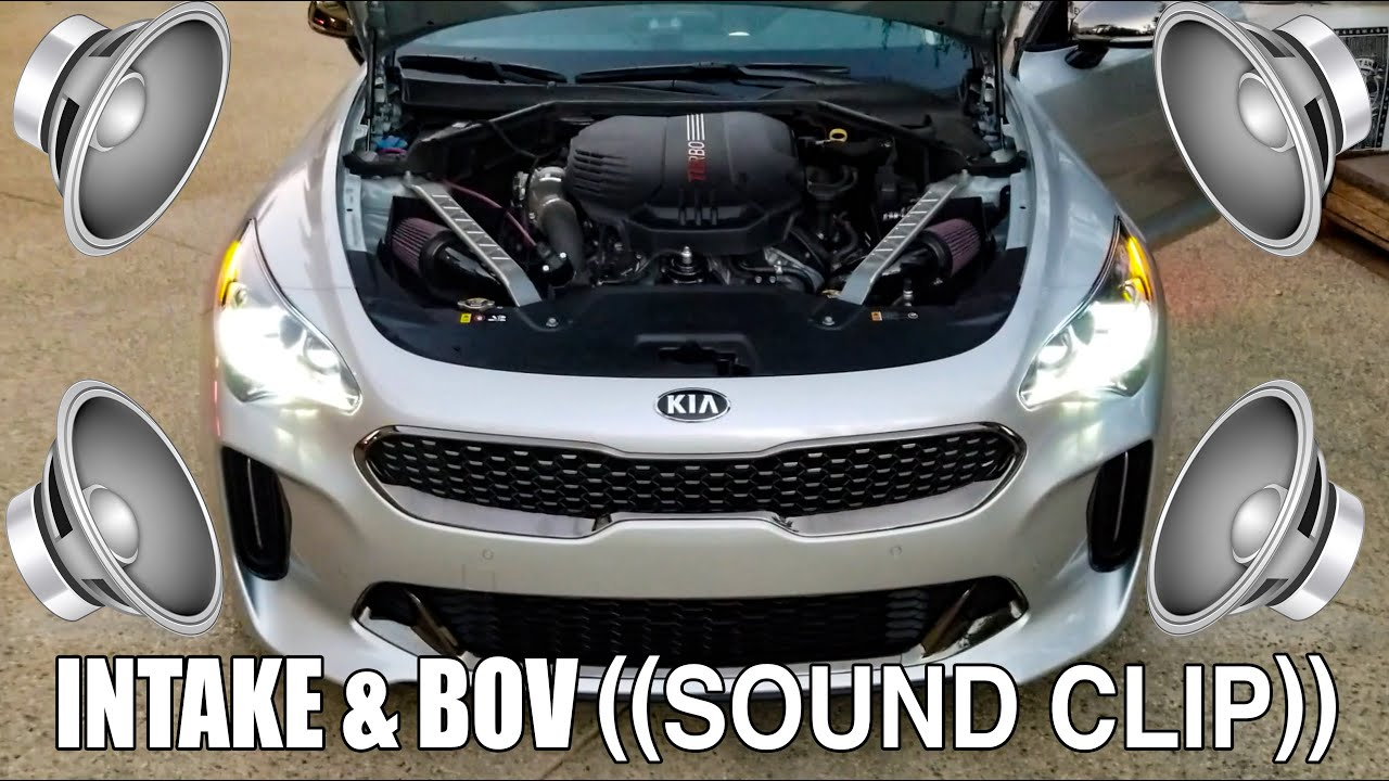 bms kia stinger genesis g70 performance dual intake dual performanc burger motorsports inc  [ 1280 x 720 Pixel ]