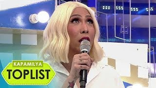 10 times Vice Ganda amused us with his funny and quirky 'Alamat' in It's Showtime | Toplist