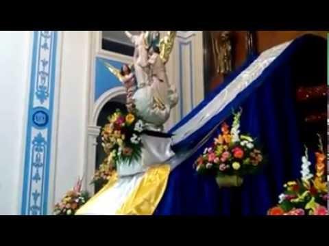 Bajada de la imagen de Nuestra Señora de la Asunción en Granada 2016