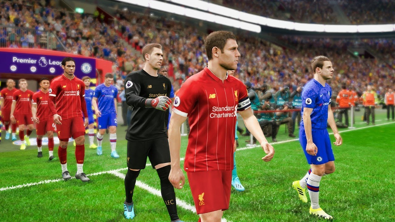 Liverpool vs Chelsea (Com vs Com) UEFA Super Cup Final 2019