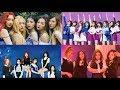 My Ranking In Different  Categories [TWICE, Red Velvet,  BLACKPINK,  GFriend]