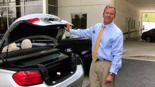 BMW 4 series convertible truck space CHALLENGE ! #BMW, #Alpharetta, #convertible, #trunk space