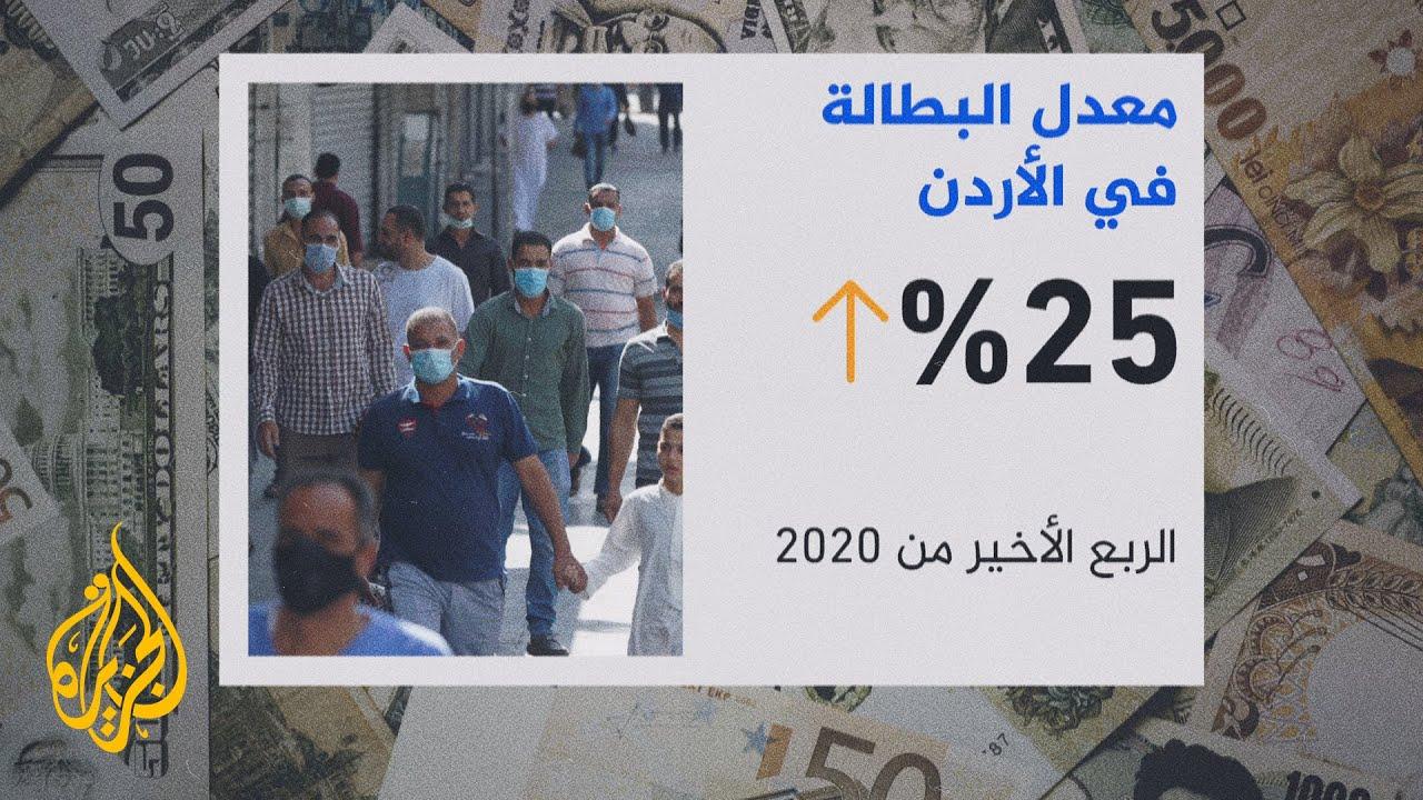 تفاقم البطالة بالأردن مع استمرار تداعيات جائحة كورونا