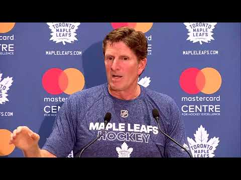 Maple Leafs Training Camp: Mike Babcock - September 14, 2017