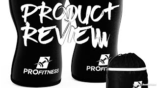 ProFitness 7MM Knee Sleeve (Pair) with Non-Slip Tech - Product Review