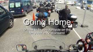 Going home - with the ferryboat from Kristiansand