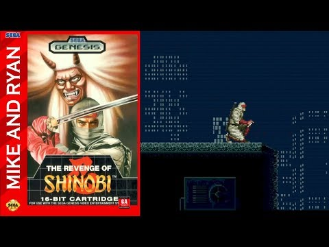 The Revenge of Shinobi (Sega Genesis) Mike & Ryan