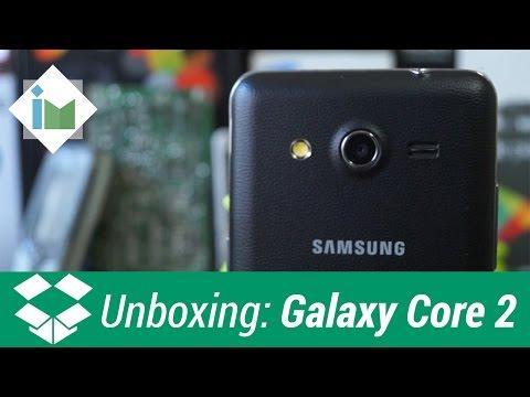 Unboxing - Samsung Galaxy Core 2 en español