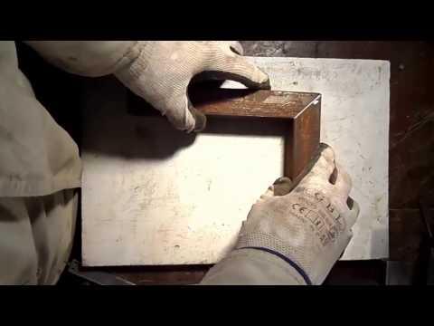 Как отрезать профильную трубу под углом 45 болгаркой Дачный мастер на все руки