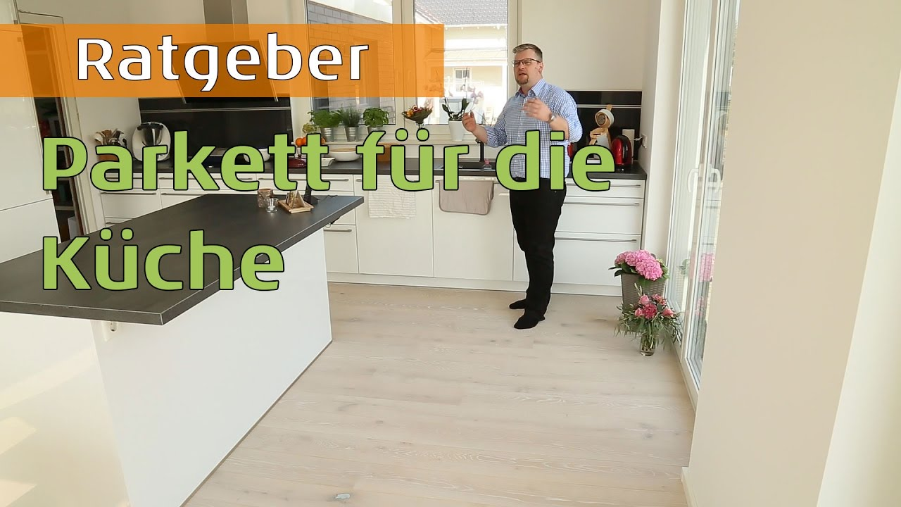 Parkett in der Küche - YouTube