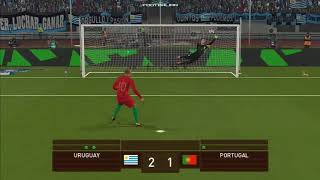 PES 2018 | Uruguay vs Portugal | Penalty Shootout &Celebration | Suarez vs Ronaldo | Gameplay PC