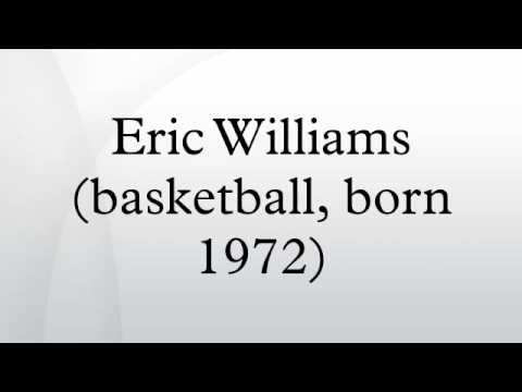 Eric Williams (basketball, born 1972)