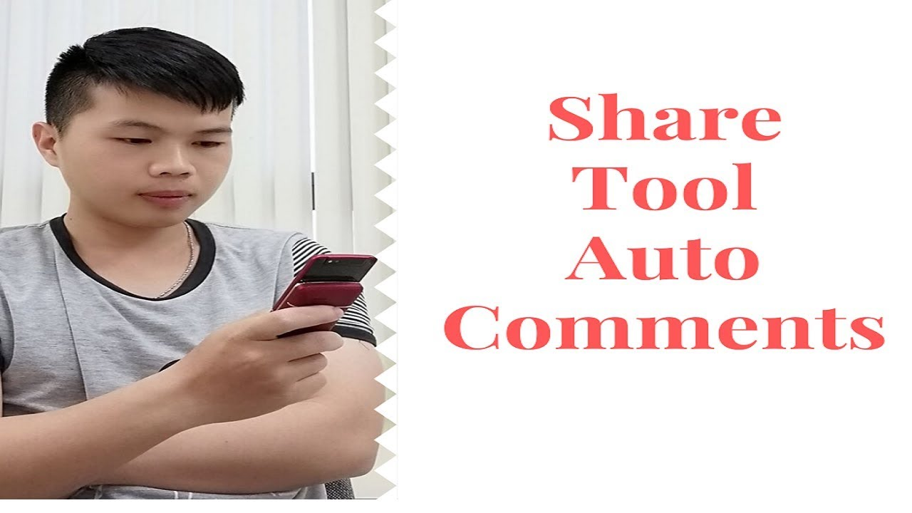 ✅ Share TOOL AUTO Comment lên Fanpage, Nick, Group… Facebook