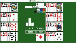 AMIGA STREETS N ALLEYS BELEAGUERED CASTLE STREETS & ALLEYS STREETS'N'ALLEYS OCS ASSASSINS 039