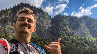 Throwing myself down a Mountain on a Bike!