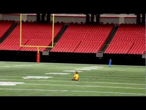 The Georgia Dome:  Atlanta Falcons Stadium Tour