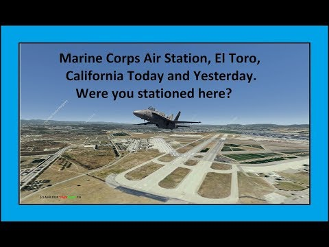 Marine Corps Air Station El Toro. 1970, 2006 and now! Were you there?
