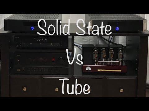 Solid State Vs Tube Amplifiers Goldenear Bob Carver Emotiva