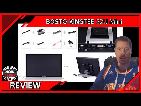 Bosto Kingtee 22U Mini Review 2015 - Wacom Cintiq Alternative