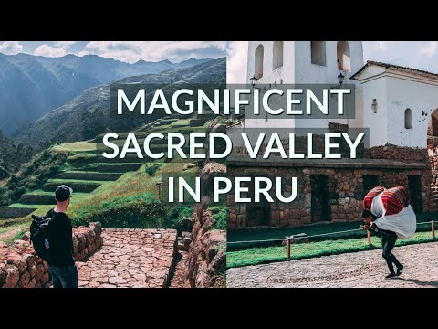 Amazing Sacred Valley Tour Around Cusco - Peru (close To Machu Picchu) - Travel Vlog