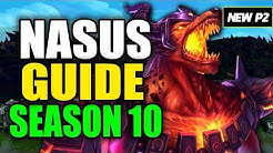 HOW TO PLAY NASUS SEASON 10 - (Best Build, Runes, Playstyle) - S10 Nasus Gameplay Guide