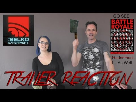 The Belko Experiment Red Band Trailer Reaction @horrifyou