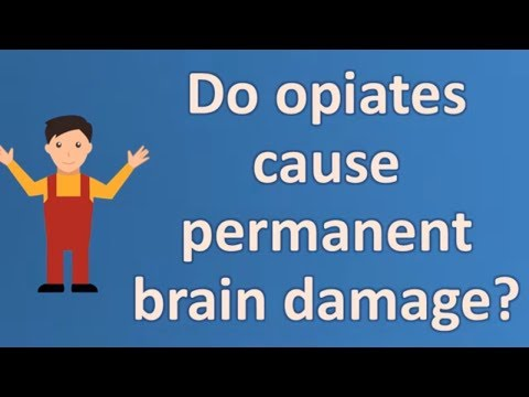 Do opiates cause permanent brain damage ? | Health and Life