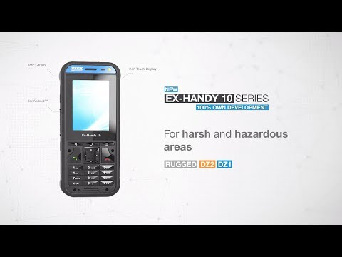 ecom Ex-Handy 10 Feature Phone for DZ1 & DZ2 | ATEX IECEx