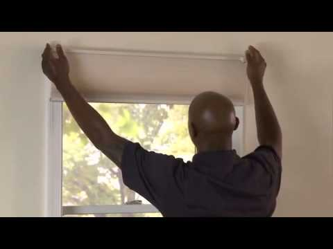 How to Install Outside Mounted Honeycomb Shades