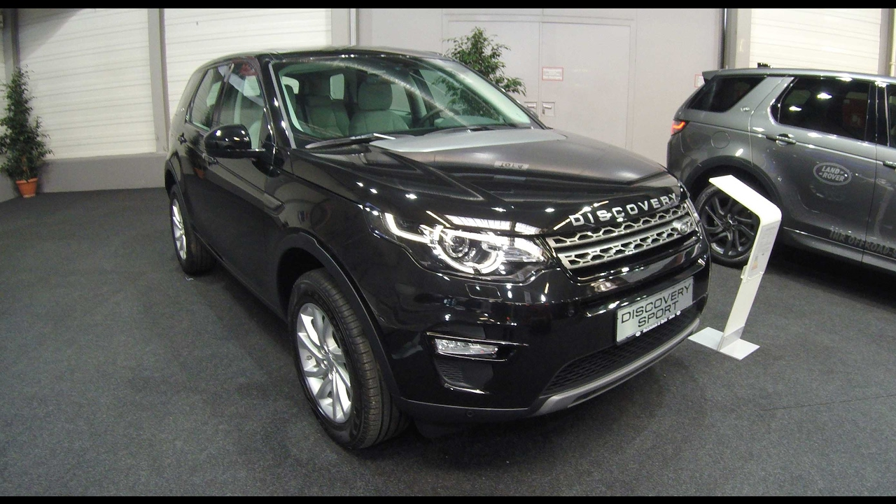 Land Rover Discovery 5 Sport Se Santorini Black Walkaround And Interior New Model 2017