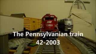 The Pennsylvanian train 42-2003