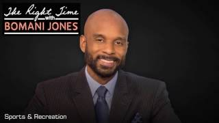 the right time with bomani jones hour 1 4 21 17 lebron james flipped the switch pft commenter