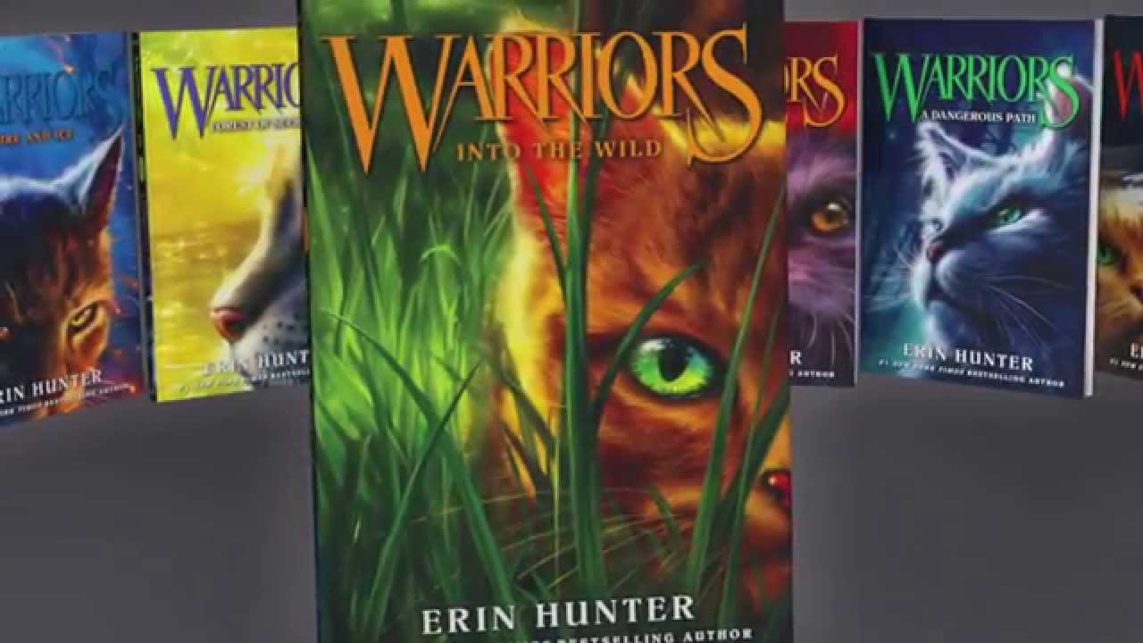Warriors Series By Erin Hunter Official Book Trailer Youtube