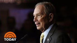 Bloomberg Under Fire For 'Stop And Frisk' Comments In 2015 Audio | TODAY
