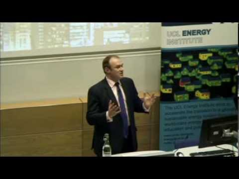 UCL-Energy First Annual International Energy Lecture: Edward Davey MP
