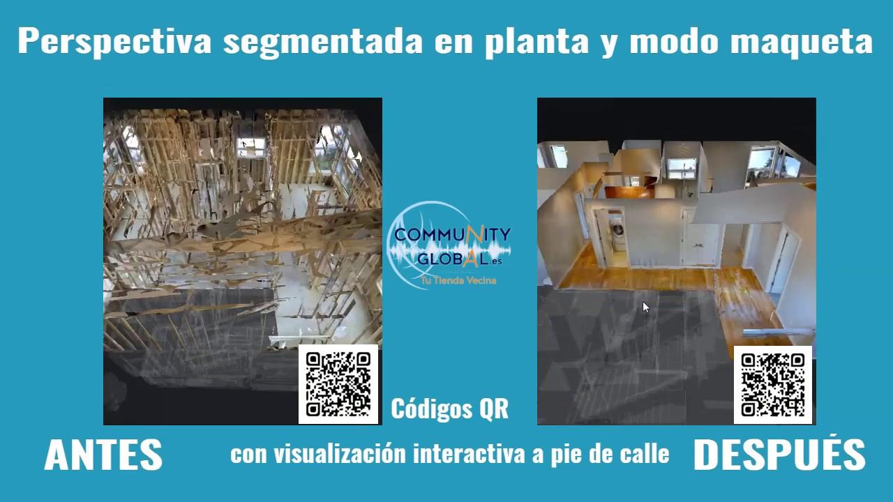 Antes La Vecina community global - visualización de reformas y proyectos de decoración,  antes y después.