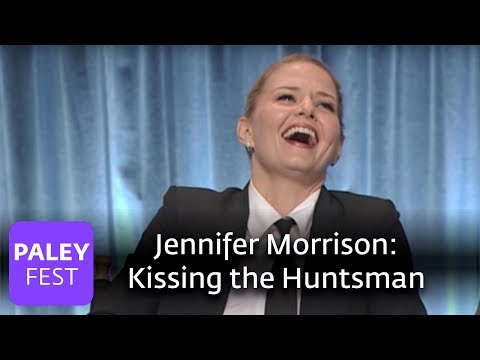 Once Upon A Time - Jennifer Morrison on Kissing the Huntsman