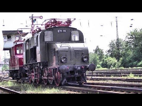 Lokomotivparade im DB-Museum Koblenz am 21. Mai 2011 [HD 720p]