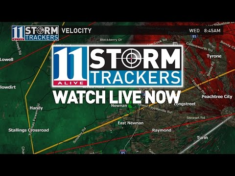 LIVE: Severe storms moving through Georgia | Atlanta weather