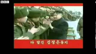 N Korea celebrates on TV despite its bellicose rhetoric