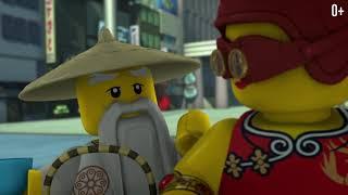 Тьма возвращается Эпизод 1 LEGO Ninjago S2 Зелёный Ниндзя