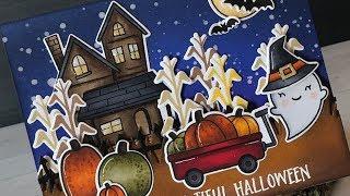 Pop-up Halloween card
