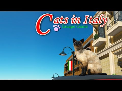Escape Game:Cats in Italy Android Gameplay ᴴᴰ