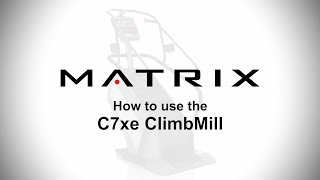 How to use the Matrix C7xe CimbMill