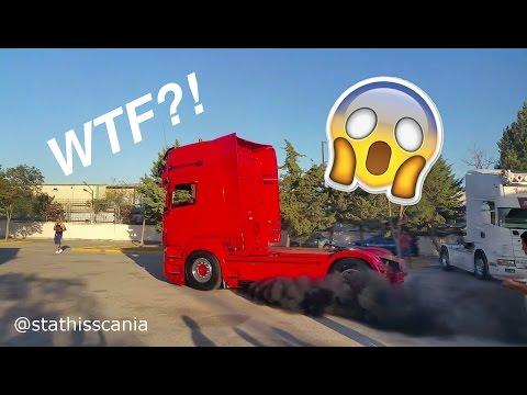 SCANIA CRAZINESS!!!! - Lepidas Truck Meet 2016, Greece!