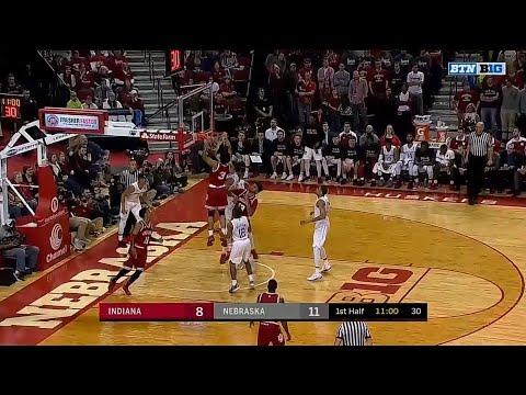 Justin Smith Rebound Dunk vs. Nebraska